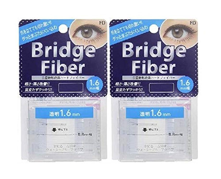 まとめるギャラリー後FD ブリッジファイバーII (眼瞼下垂防止テープ) 透明 1.6mm×2個セット