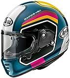 アライ(ARAI) フルフェイスヘルメット ラパイド ネオ ナンバー ブルー 61-62cm RAPIDE-NEO_NUM_BL61