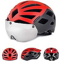 KINGBIKE マウンテンバイク UV保護 日焼け止め サイクリング用眼鏡ヘルメット 超軽量 高剛性 サイクリング 男女兼用 ヘルメット