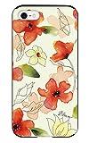 iPhone8/iPhone7/iPhone6s/iPhone6対応 iPhoneケース (ハードケース) [カード収納/耐衝撃/薄型] Bloem (ブルーム) Ladylike flower red CollaBorn