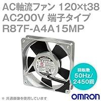 オムロン(OMRON) R87F-A4A15MP AC軸流ファン 200V (120×t38 端子タイプ) (回転数 50Hz 2450回) NN