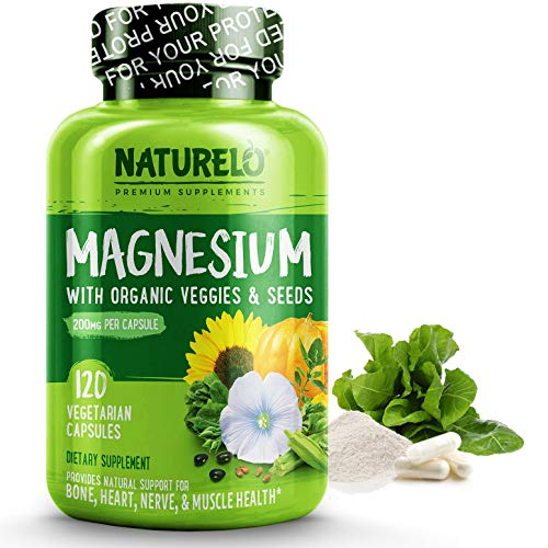 NATURELO マグネシウム グリシネート サプリメント (120カプセル)