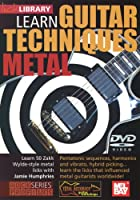 Learn Guitar Techniques: Metal [DVD] [Import]