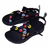 (チャコ) Chaco Kids Z1 ECOTREAD PACMAN EDITION 17cm Black
