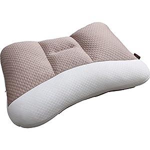 アイリスオーヤマ 枕 匠眠 高さ調整8通り 通気性抜群 洗える ハイクラス ハード Sサイズ ブラウン