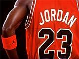 ジョーダン 【スポーツ】マイケル・ジョーダン 23 バスケットボール シャツ 赤  アートプリントポスター  SPORT MICHAEL JORDAN 23 BASKETBALL SHIRT RED LV11169