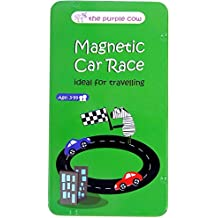 Magnetic Travel Game Car Race (multilingual)