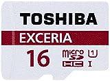 東芝 microSDHC 16GB EXCERIA 48MB/s UHS-I Class10 TOSHIBA THN-M301R0160 海外向パッケージ品 [並行輸入品]