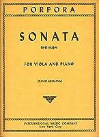 PORPORA - Sonata en Sol Mayor para Viola y Piano (David/Hermann/Vieland)
