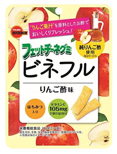 フェットチーネグミ ビネフルりんご酢味 10袋