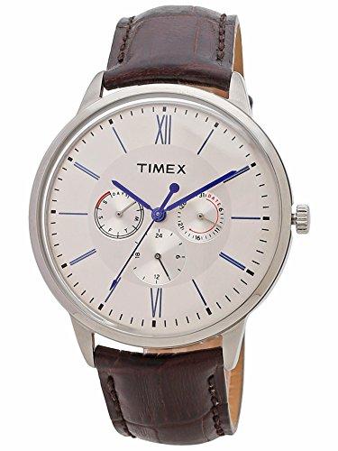Timexアナログブルーダイヤルメンズwatch-tweg16400