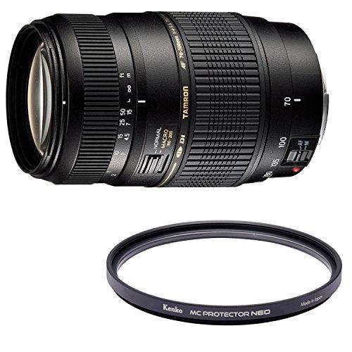 TAMRON 望遠ズームレンズ AF70-300mm F4-5.6 Di MACRO ペンタックス用 フルサイズ対応 A17P + Kenko レンズフィルター MC プロテクター NEO 62mm レンズ保護用 726204 セット