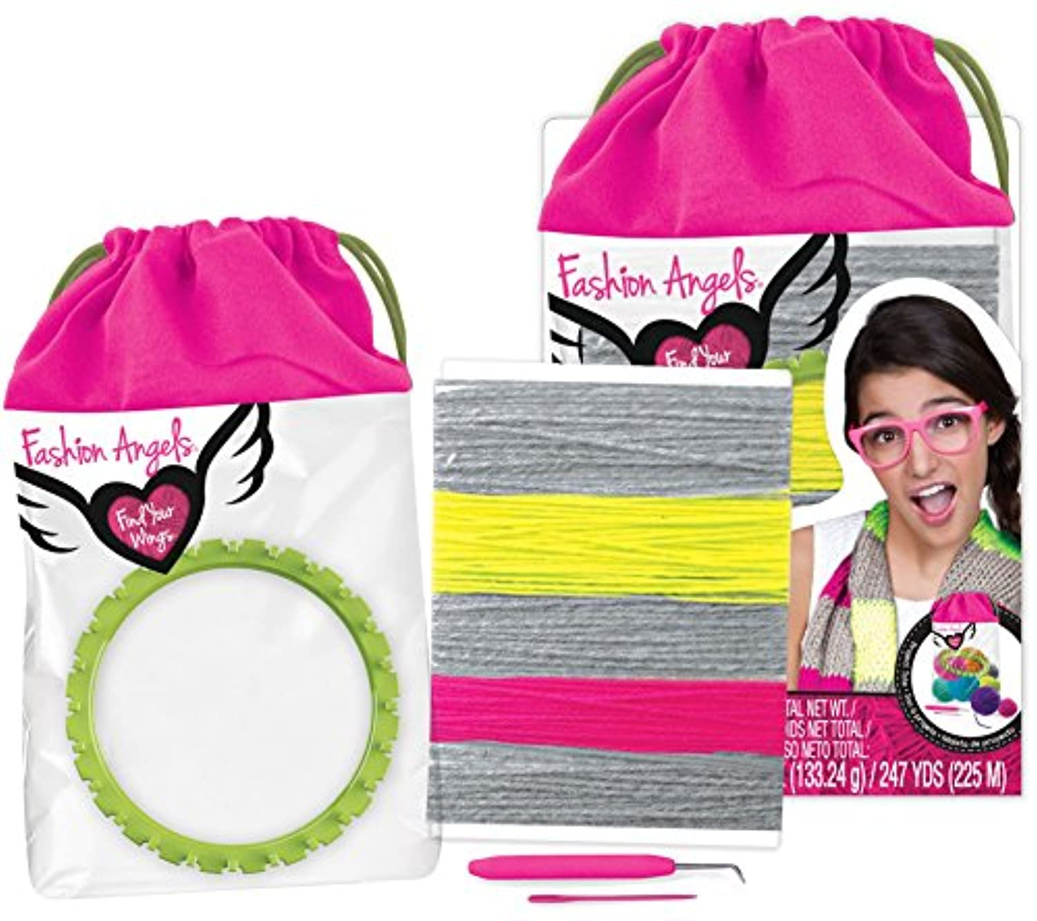 Darn Yarn Infinity Scarf Kit - Fashion Angels Find Your Wings Series by Fashion Angels