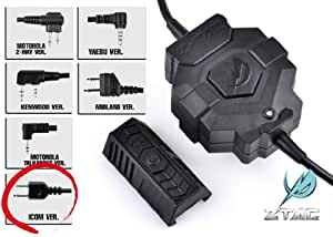 Z TACTICAL ワイヤレスPTTスイッチ ICOMコネクター