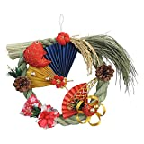 シオン工芸 オーナメント 国産〆縄正月飾り2016 ウ-600