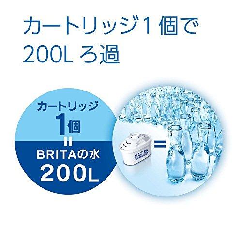 JAPAN ブリタ マレーラクール パステルブラックベリー カートリッジ2コ付き 本体+カートリッジ2コ入