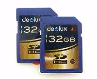 貿易ツインパック2x 32GBメモリカードクラス10SD SDHCクラス10メモリカードクラス10クラス10for JVC Everio gz-ms230ビデオカメラ