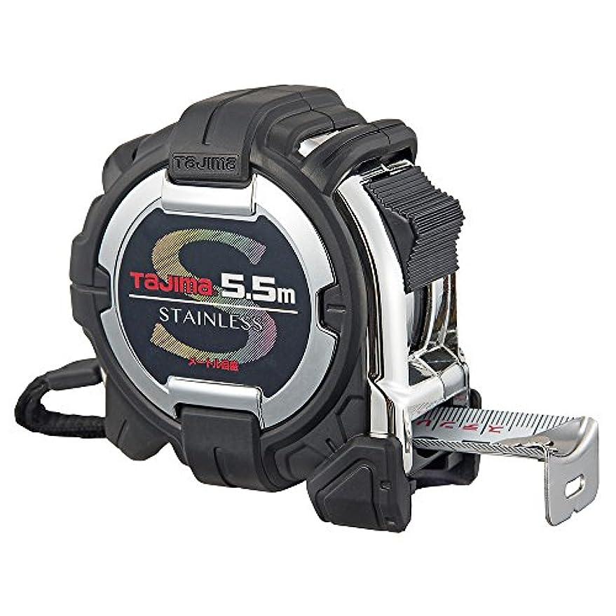 トリップスリチンモイレッスンタジマ G3ステンロック25 5.5m 25mm幅 メートル目盛 G3SL2555BL