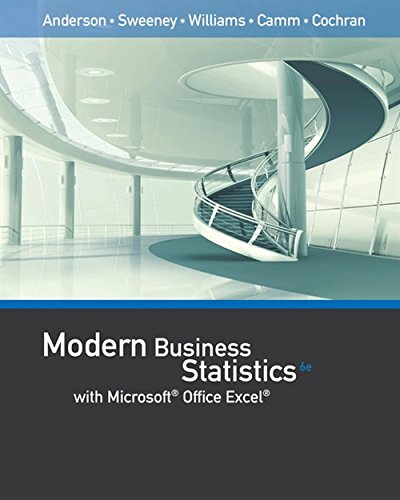 Download Modern Business Statistics With Microsoft Excel 1337115185
