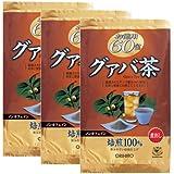 オリヒロ 徳用グァバ茶 60包【3袋セット】
