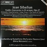 シベリウス:ヴァイオリン協奏曲ニ短調/序曲イ短調/メヌエット/フィンランディア 他@マルコヴィチ(vn)ヤルヴィ/エーテボリso.