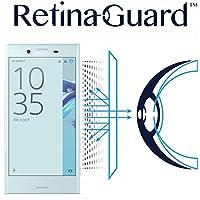 RetinaGuard Sony XPERIA X-compact SO-02J ブルーライト90%カット液晶保護フィルム