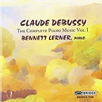 Debussy: Complete Piano Music, Volume 1 (2006-03-28)