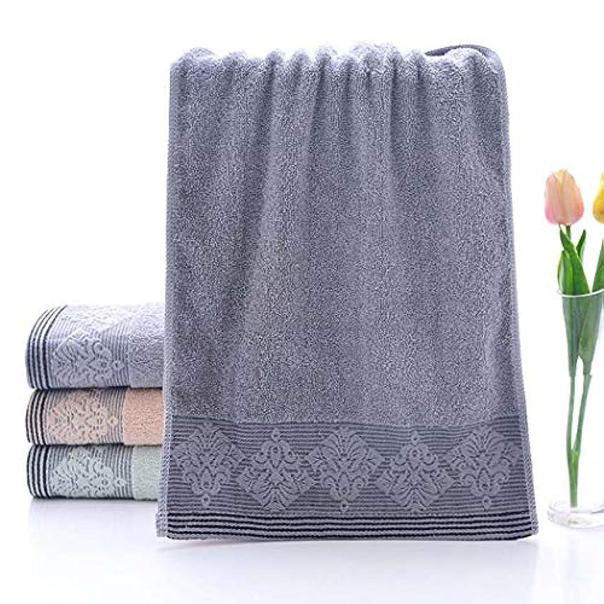 狼信頼性壊れた綿のタオルの速い乾燥したタオルのスポーツタオルの容易な心配,Gray,33*73cm