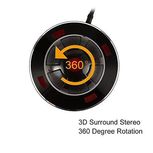 サインソニック 浮遊型 Bluetooth ワイヤレススピーカー NFC対応 近未来感あふれる ブラック