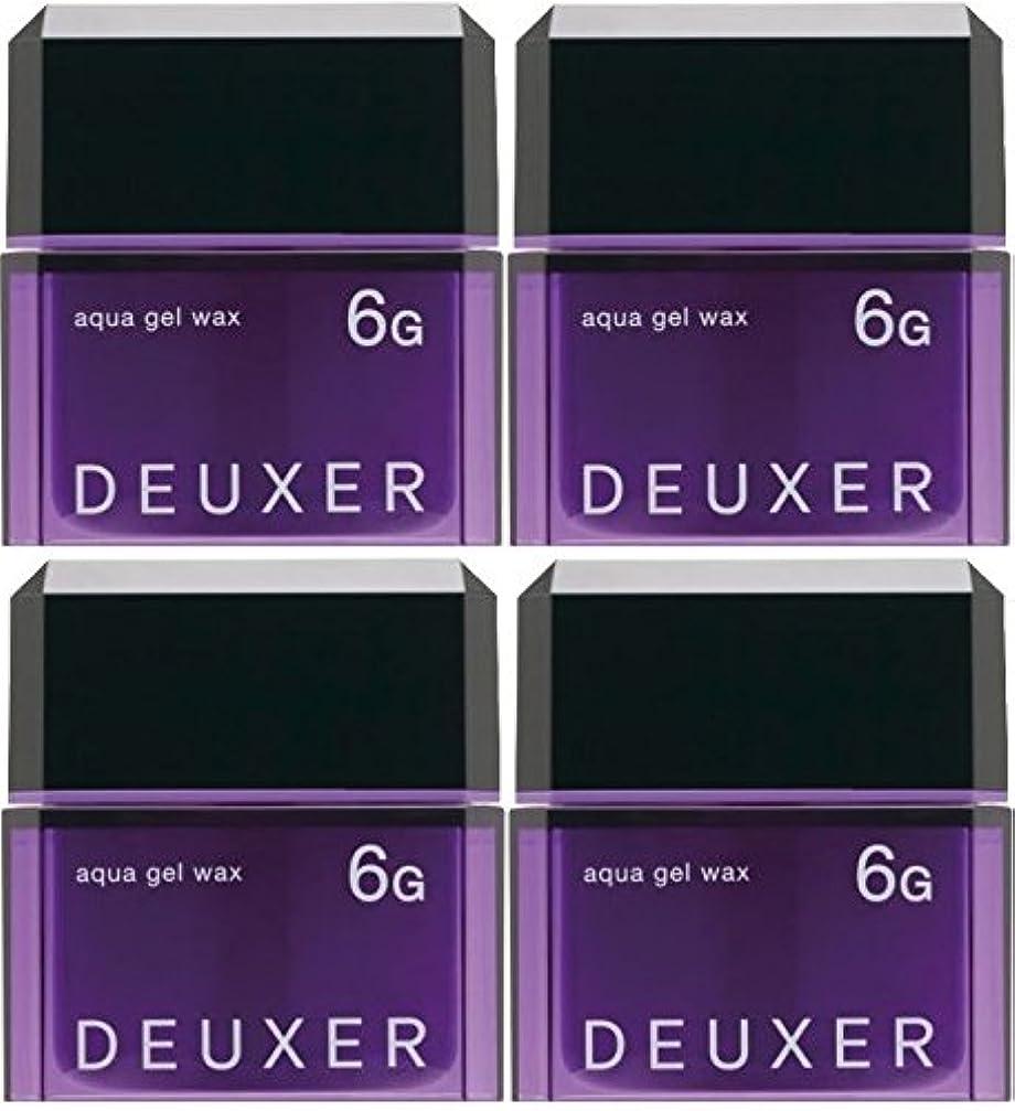先史時代の家校長【X4個セット】 ナンバースリー デューサー アクアジェルワックス 6G 80g