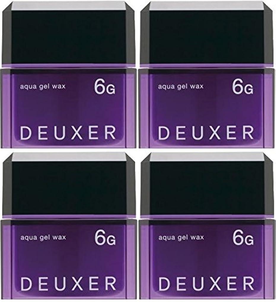アンデス山脈猛烈な時制【X4個セット】 ナンバースリー デューサー アクアジェルワックス 6G 80g