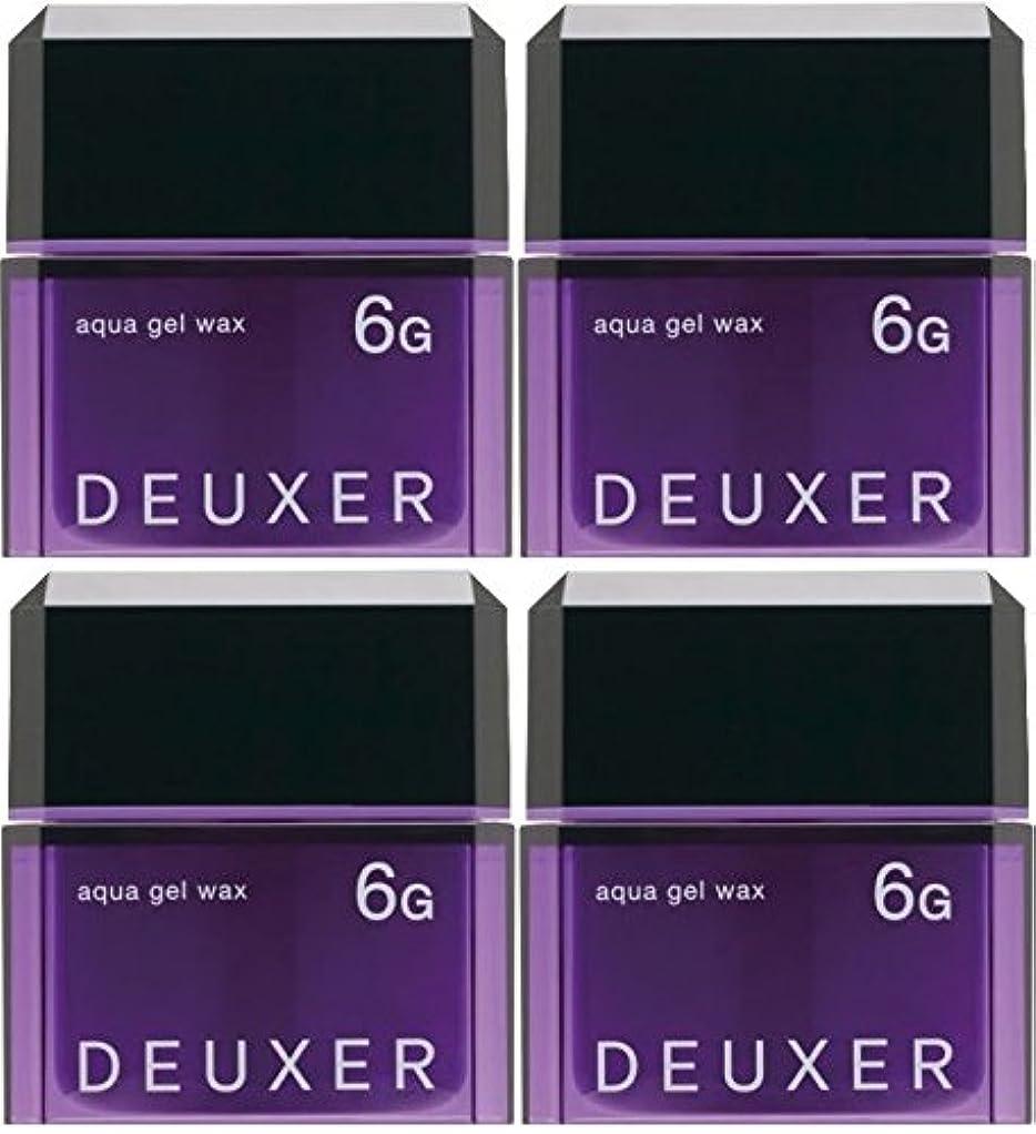 しなければならない不健全ブルジョン【X4個セット】 ナンバースリー デューサー アクアジェルワックス 6G 80g
