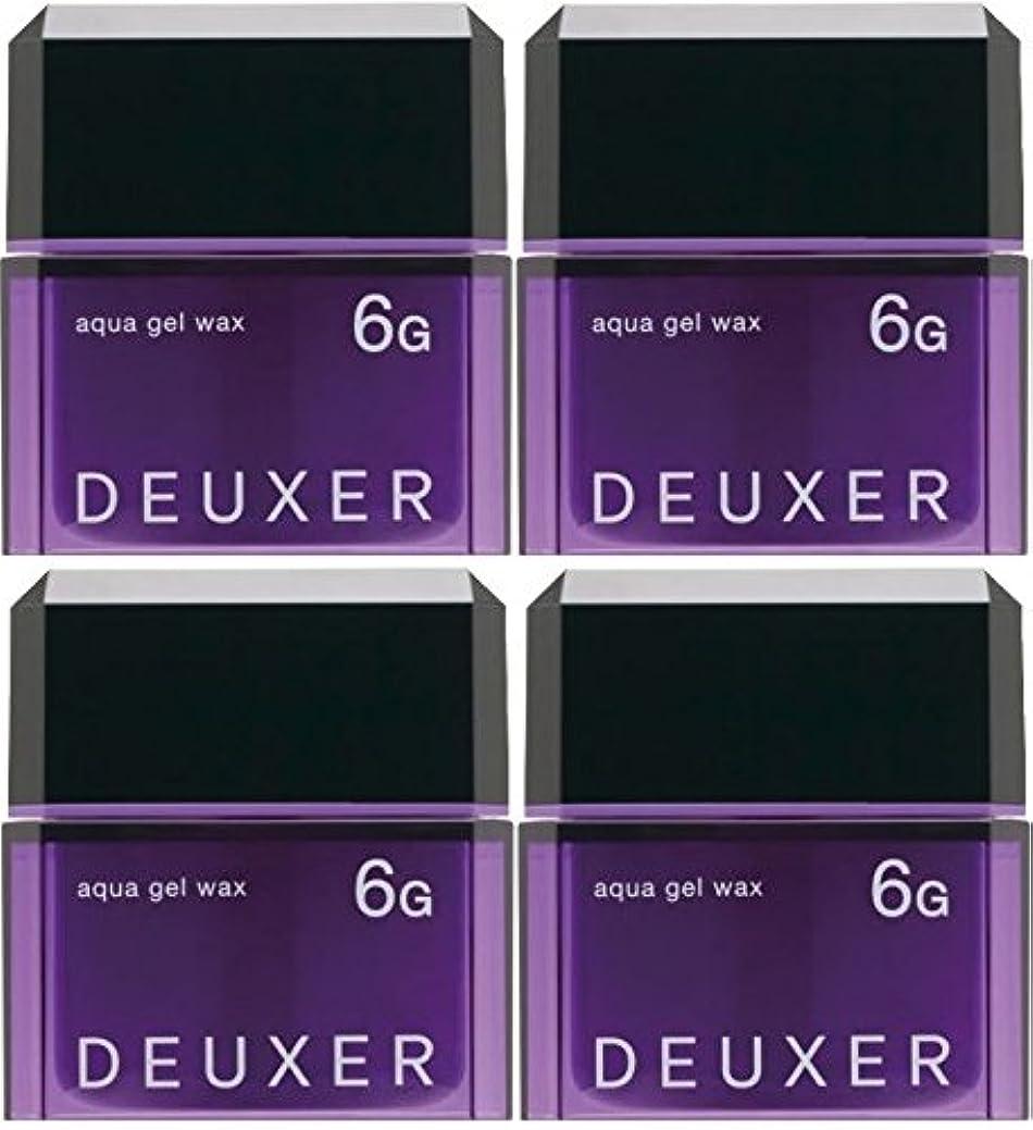 華氏近所の眩惑する【X4個セット】 ナンバースリー デューサー アクアジェルワックス 6G 80g
