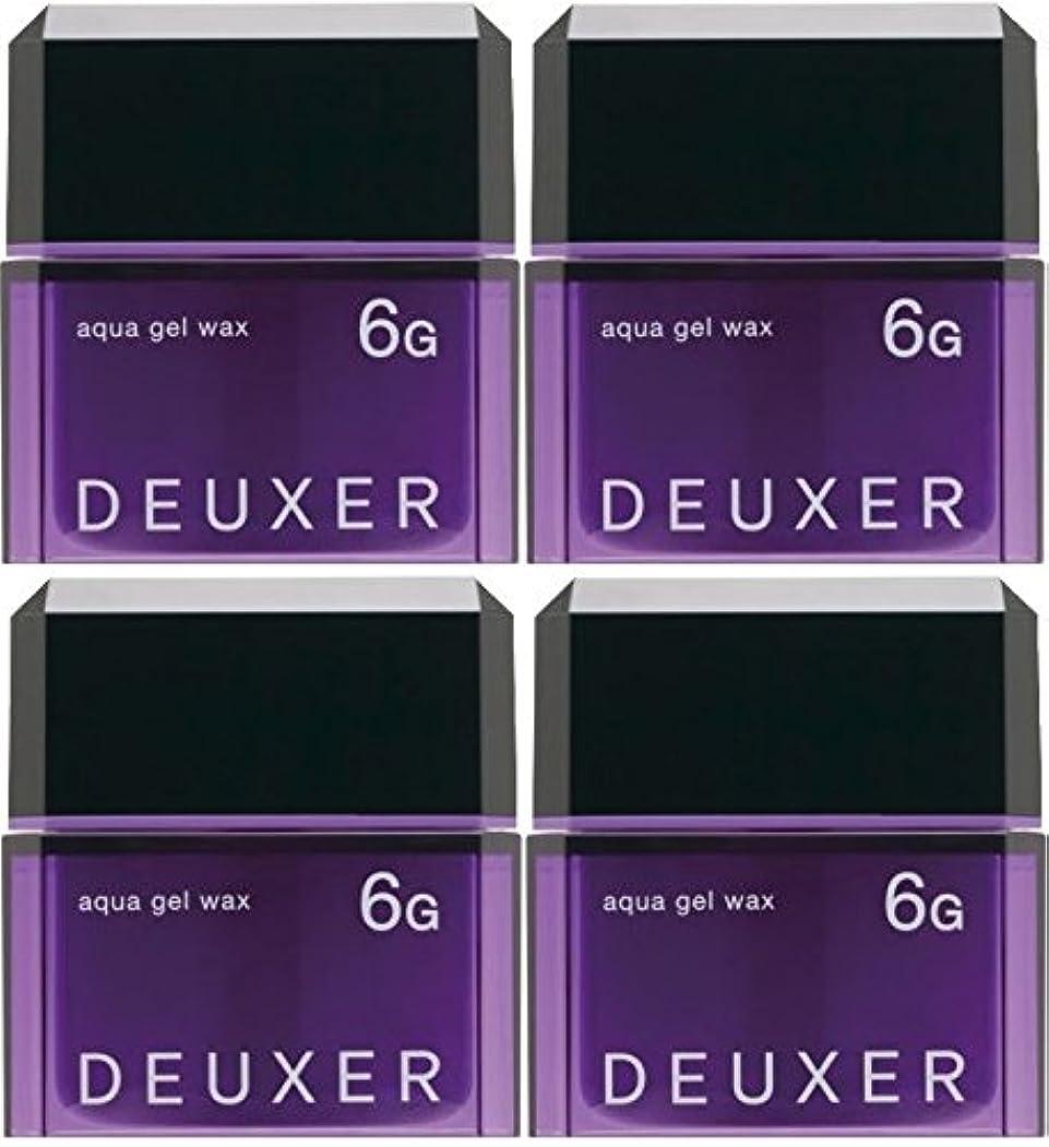 疼痛ベンチャースロベニア【X4個セット】 ナンバースリー デューサー アクアジェルワックス 6G 80g