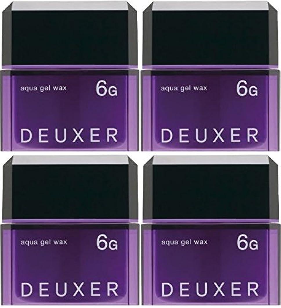 介入する社会主義インシュレータ【X4個セット】 ナンバースリー デューサー アクアジェルワックス 6G 80g