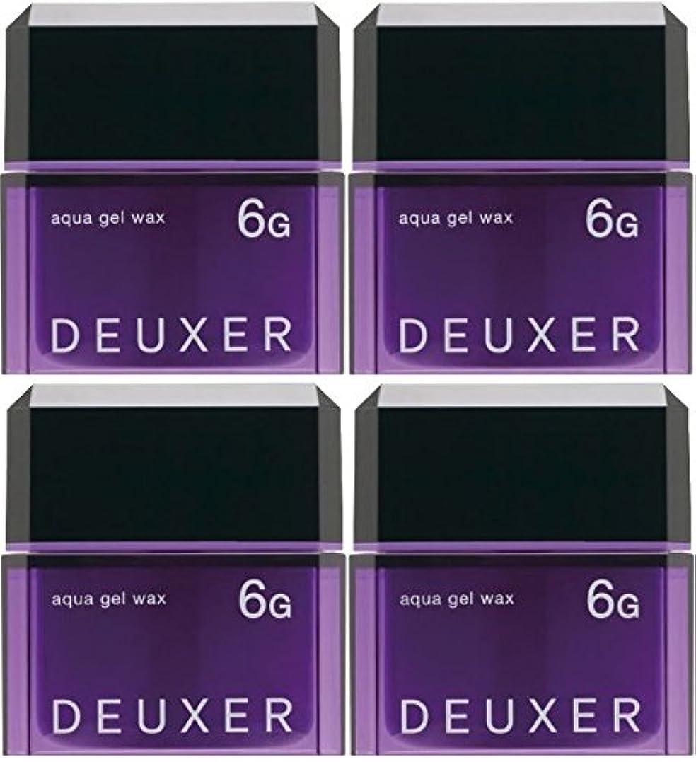 プレビュー劣る入口【X4個セット】 ナンバースリー デューサー アクアジェルワックス 6G 80g