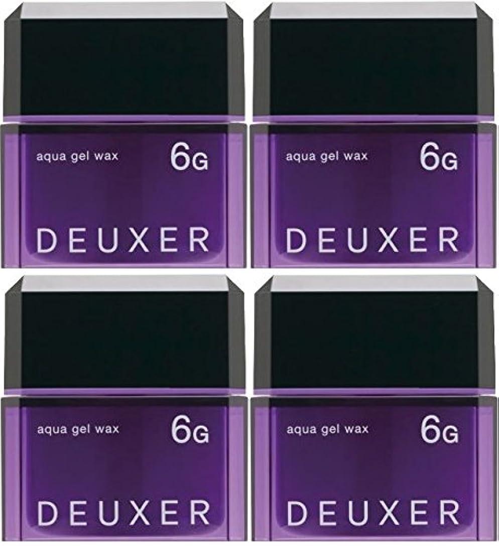 磁気床高い【X4個セット】 ナンバースリー デューサー アクアジェルワックス 6G 80g