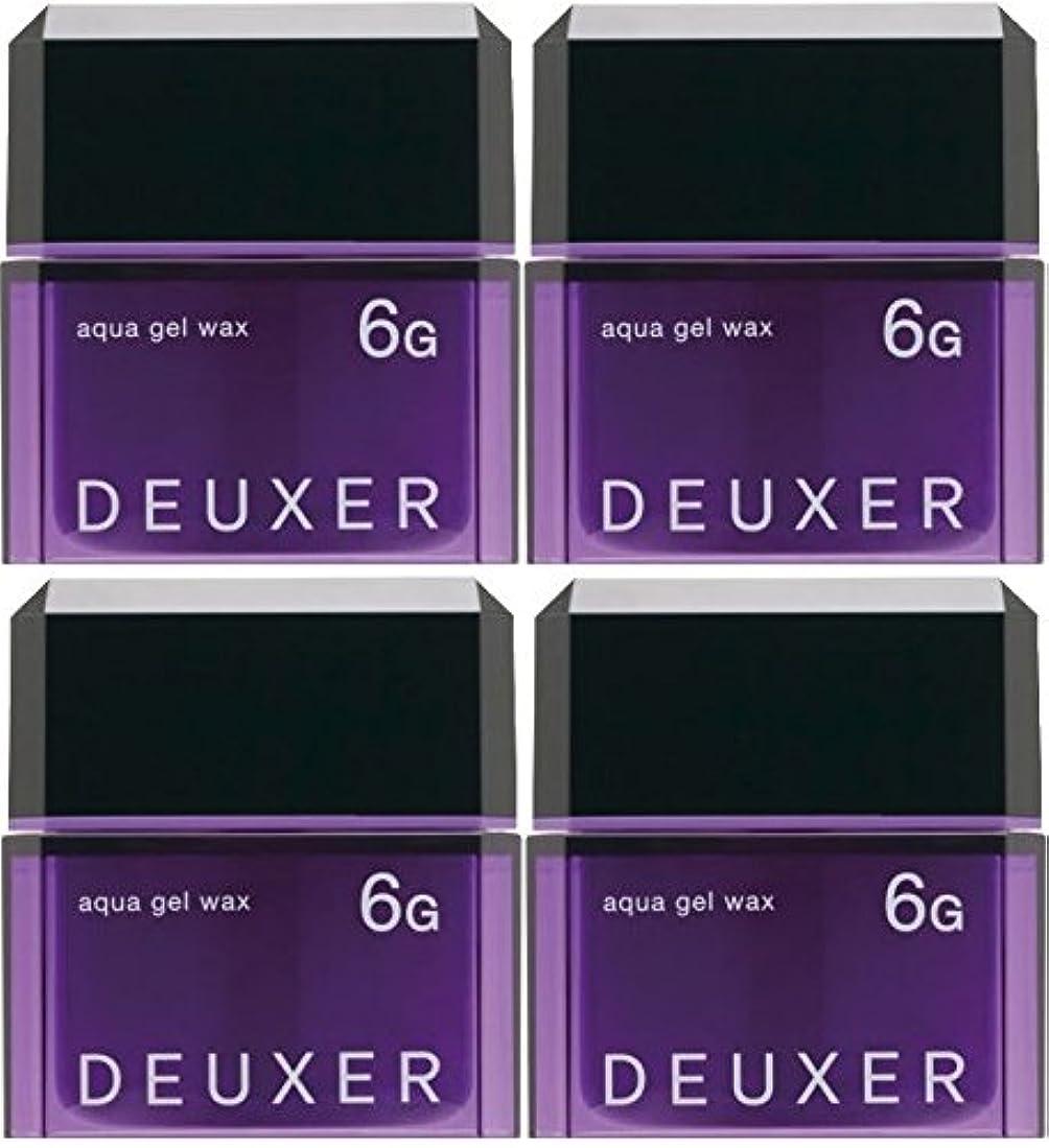 堀スイス人聖域【X4個セット】 ナンバースリー デューサー アクアジェルワックス 6G 80g