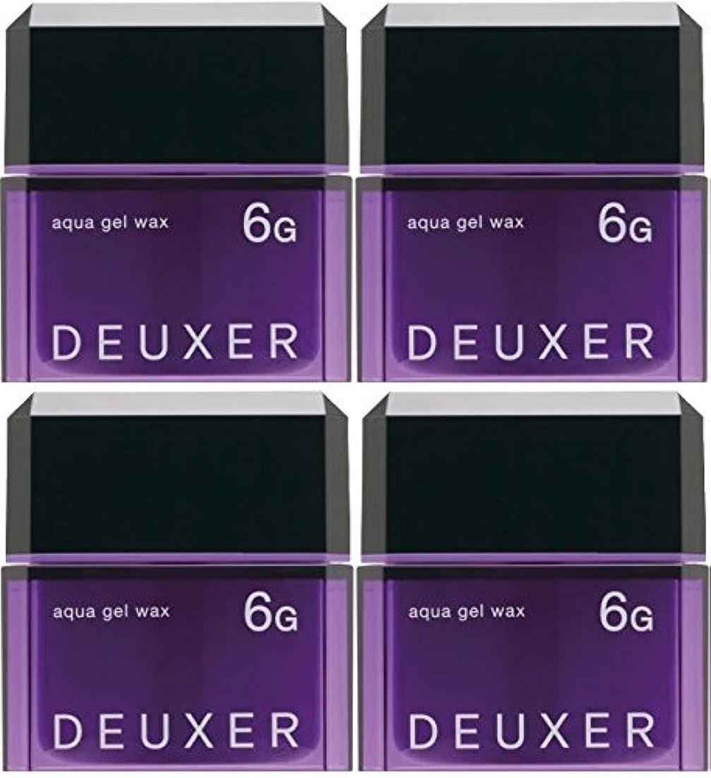 寝てるフックエレベーター【X4個セット】 ナンバースリー デューサー アクアジェルワックス 6G 80g