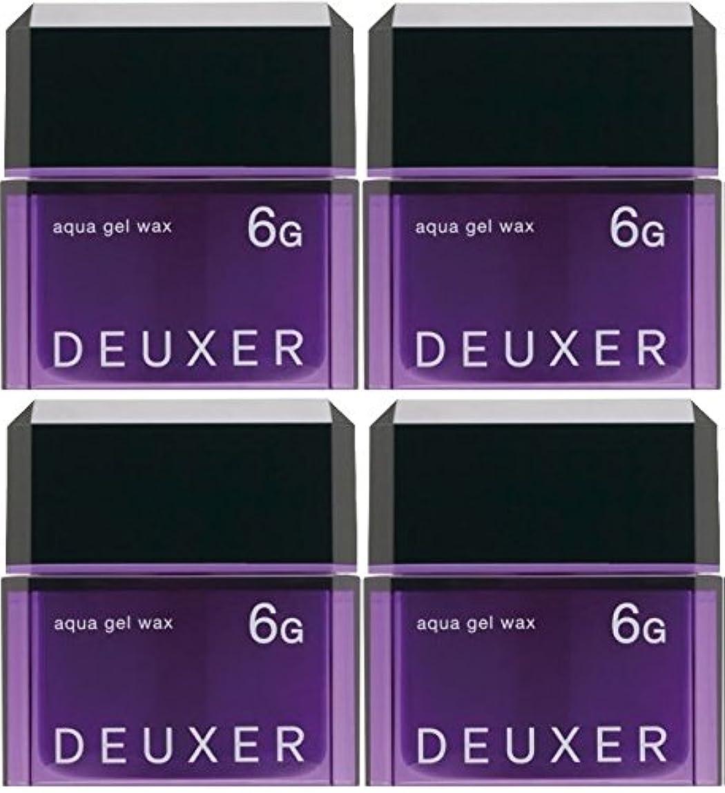 シビックアルコールおばさん【X4個セット】 ナンバースリー デューサー アクアジェルワックス 6G 80g