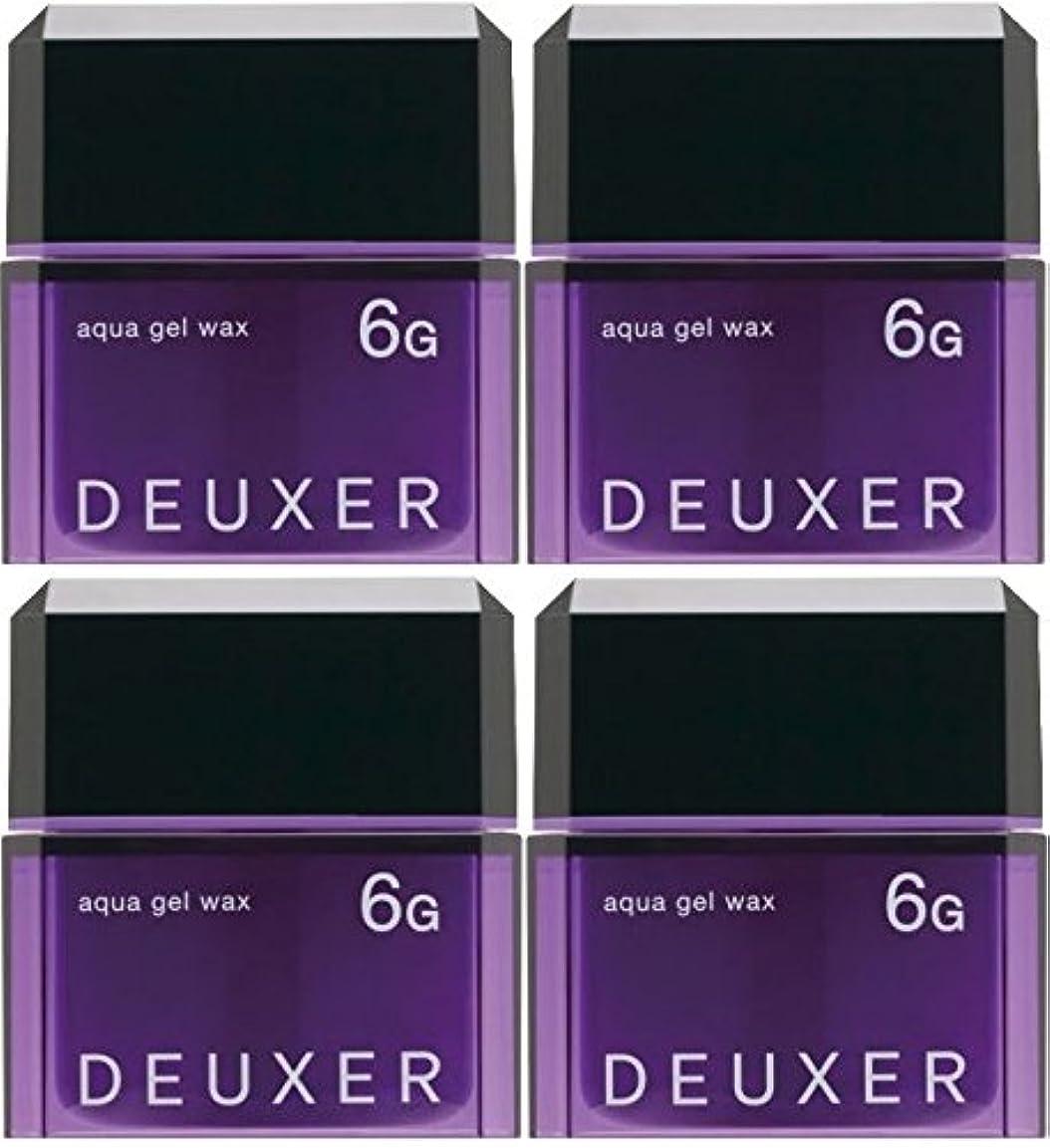 終わらせる精緻化ニュージーランド【X4個セット】 ナンバースリー デューサー アクアジェルワックス 6G 80g