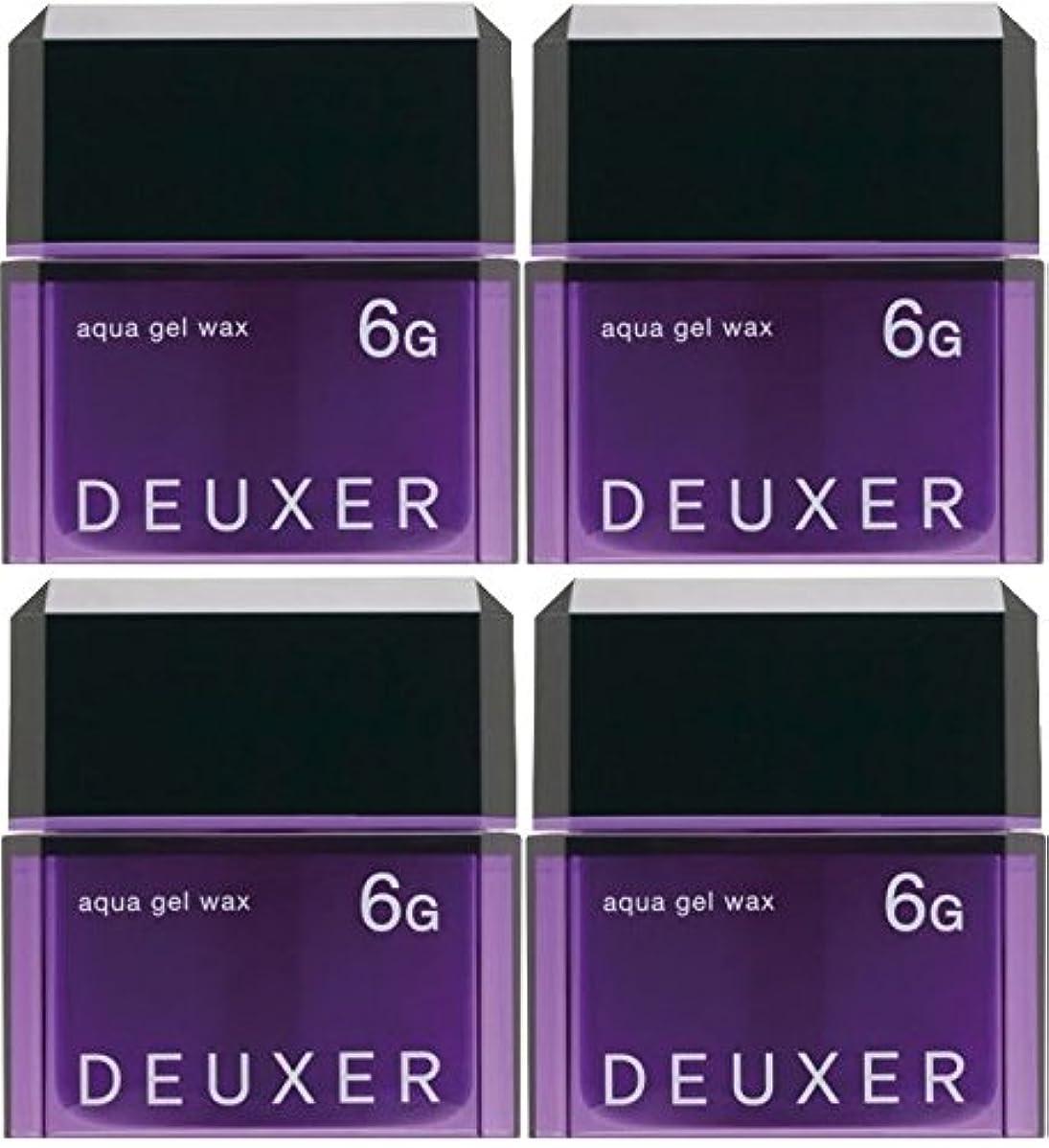 小麦旅行代理店心理的【X4個セット】 ナンバースリー デューサー アクアジェルワックス 6G 80g