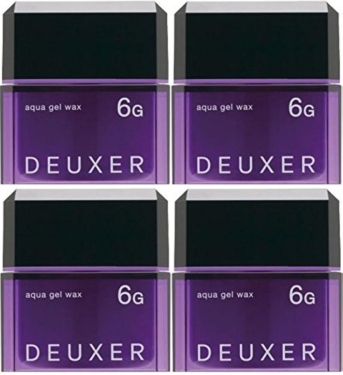アライアンス気味の悪いリル【X4個セット】 ナンバースリー デューサー アクアジェルワックス 6G 80g