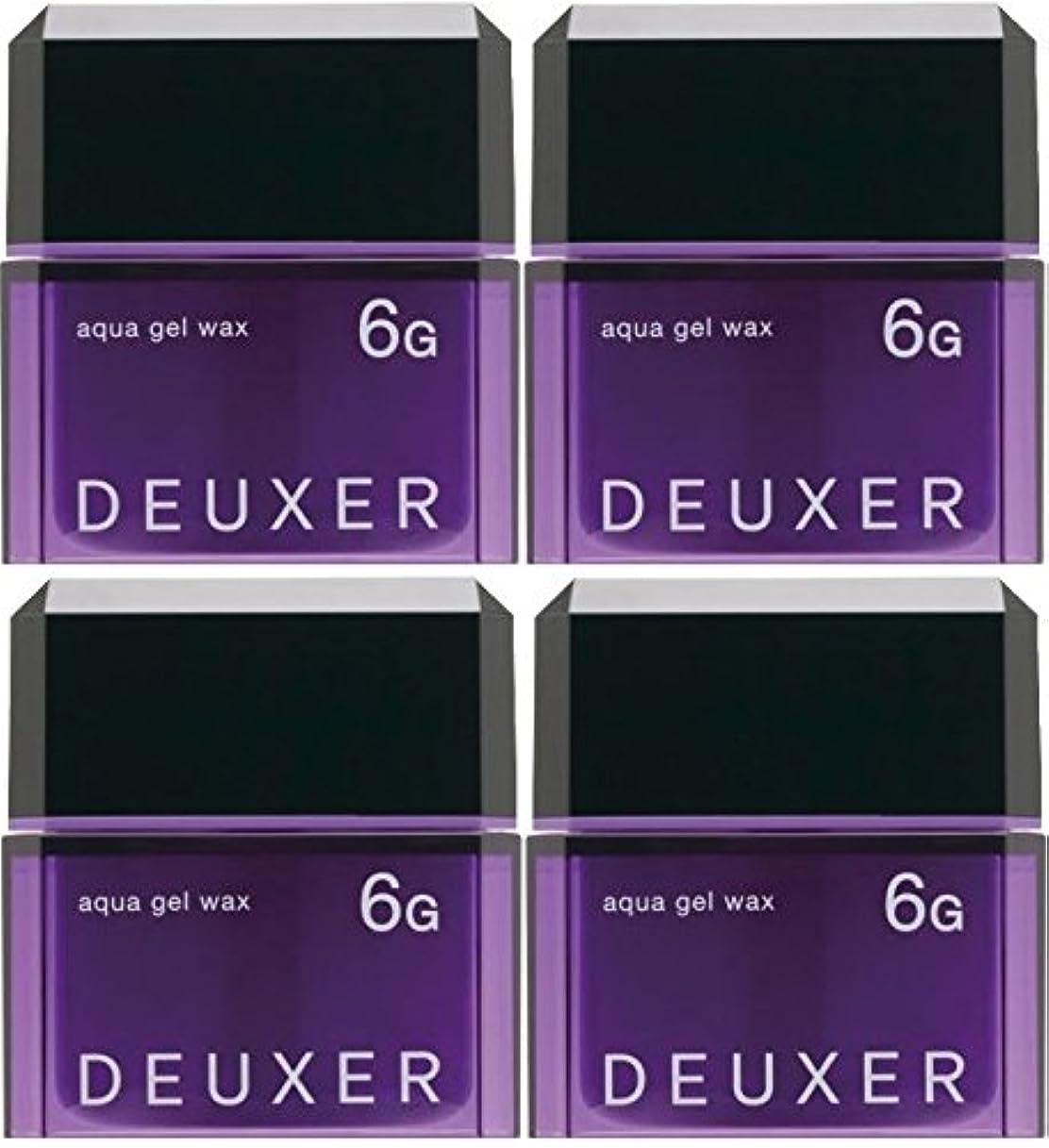 ハイライト嘆願普及【X4個セット】 ナンバースリー デューサー アクアジェルワックス 6G 80g