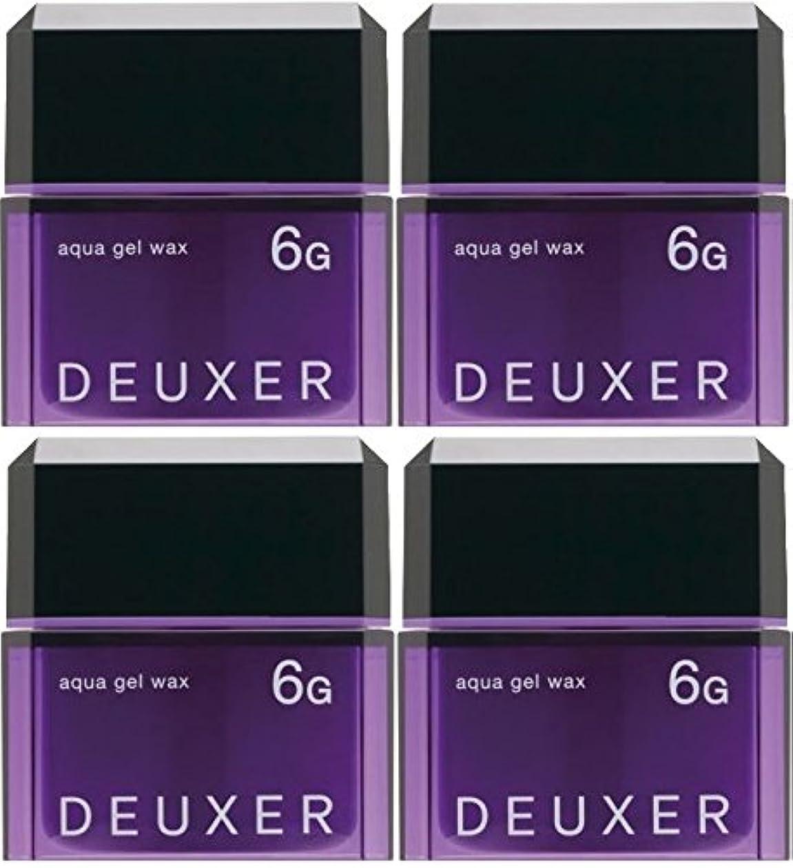 教育学チャールズキージング実質的に【X4個セット】 ナンバースリー デューサー アクアジェルワックス 6G 80g