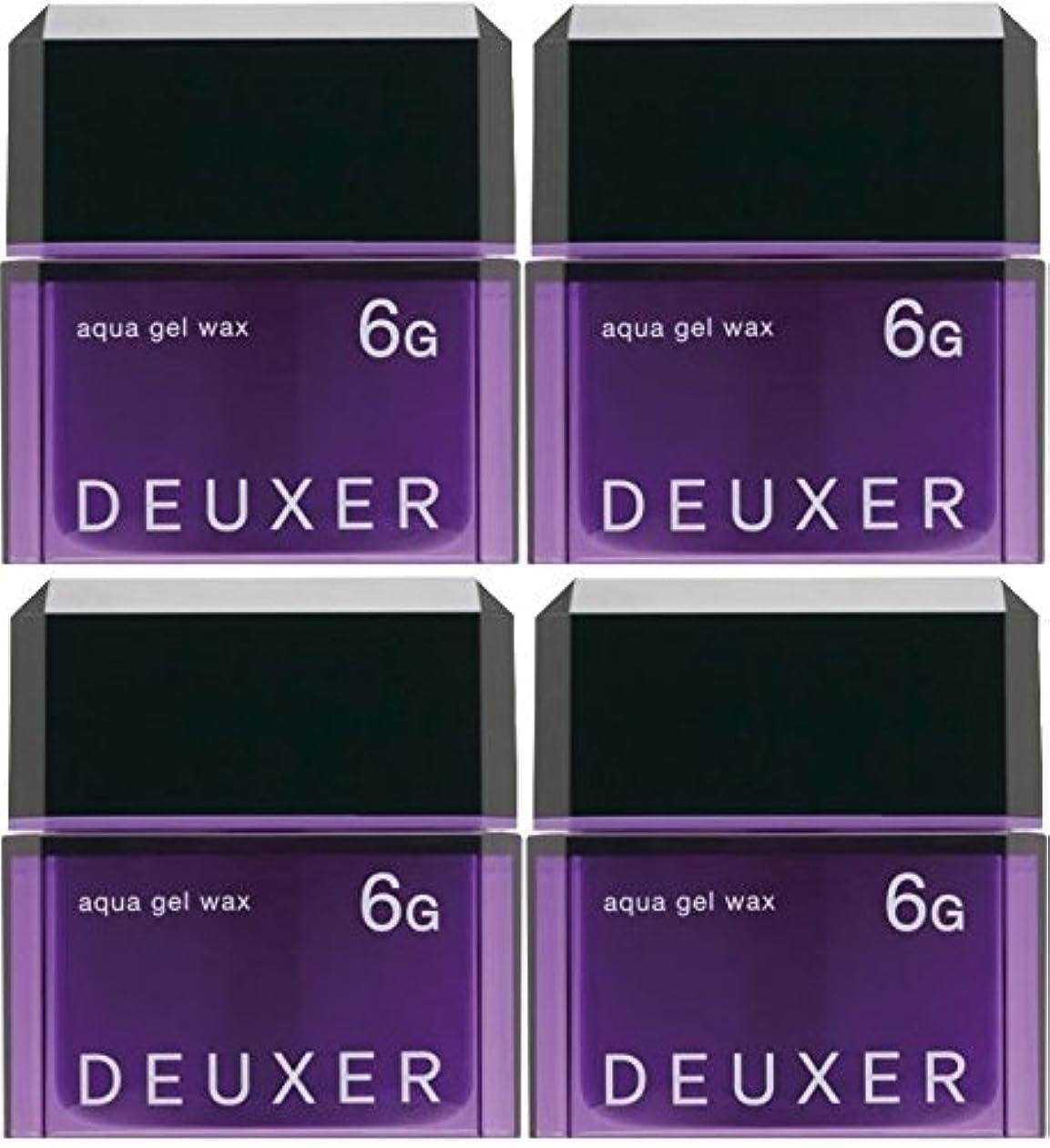 第九失望させる終了しました【X4個セット】 ナンバースリー デューサー アクアジェルワックス 6G 80g