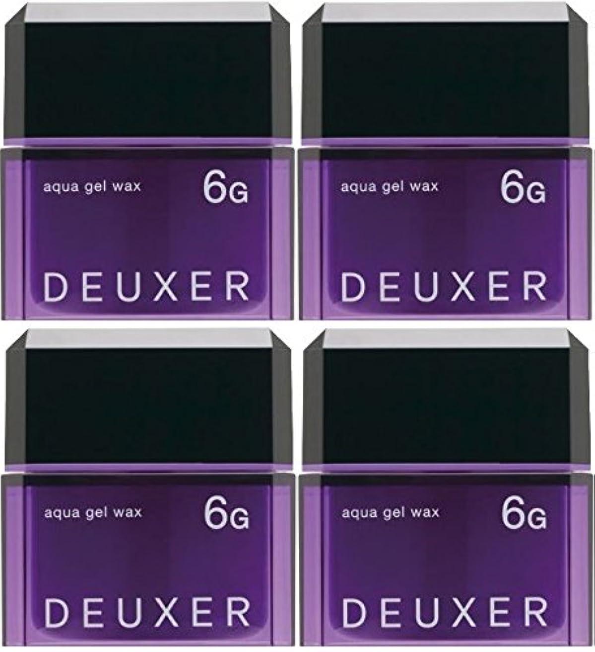 排他的切る一族【X4個セット】 ナンバースリー デューサー アクアジェルワックス 6G 80g