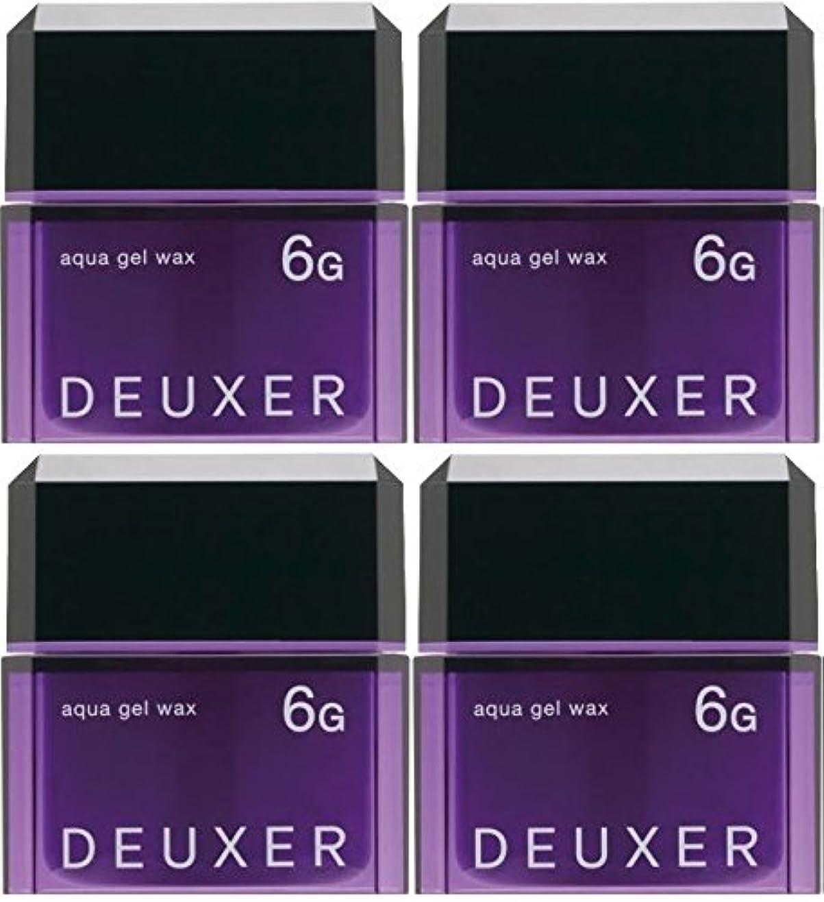 ゴール民主党解く【X4個セット】 ナンバースリー デューサー アクアジェルワックス 6G 80g