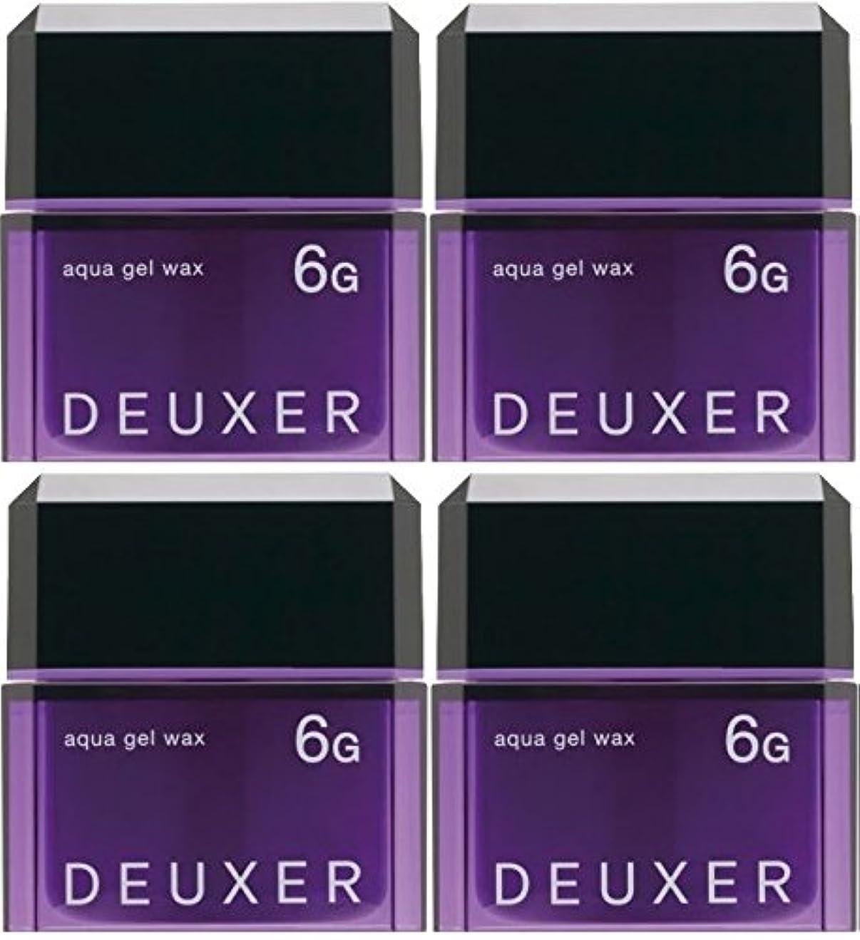 疑問に思うアレルギー性姉妹【X4個セット】 ナンバースリー デューサー アクアジェルワックス 6G 80g