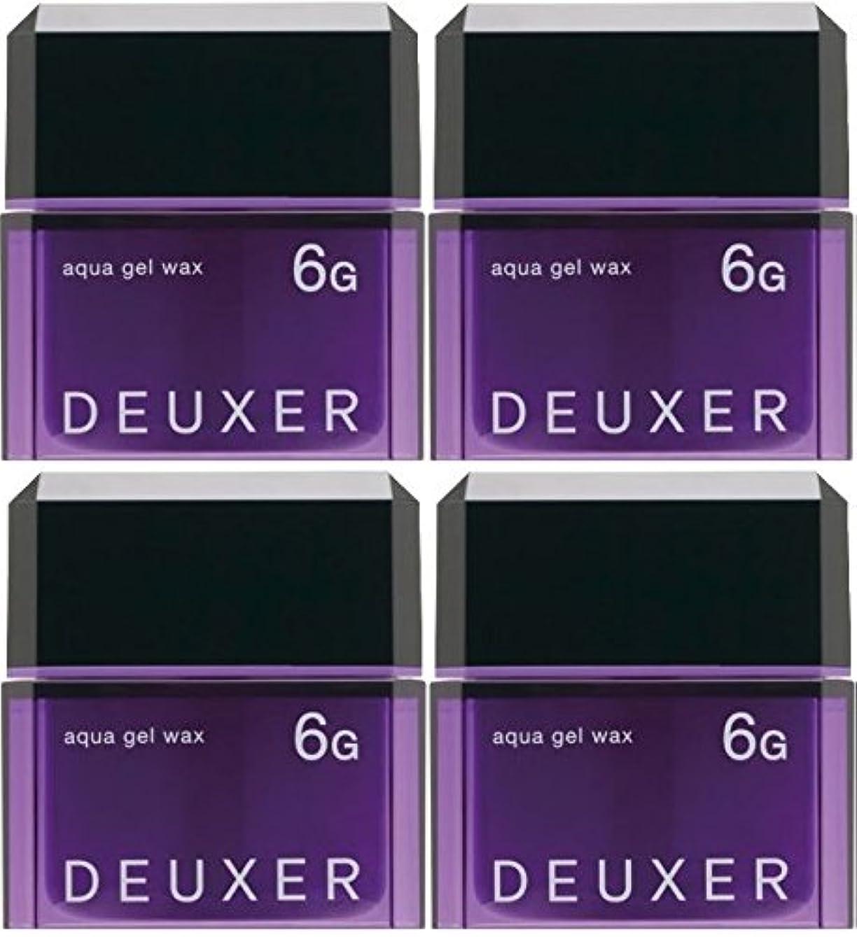 予見する施設満州【X4個セット】 ナンバースリー デューサー アクアジェルワックス 6G 80g